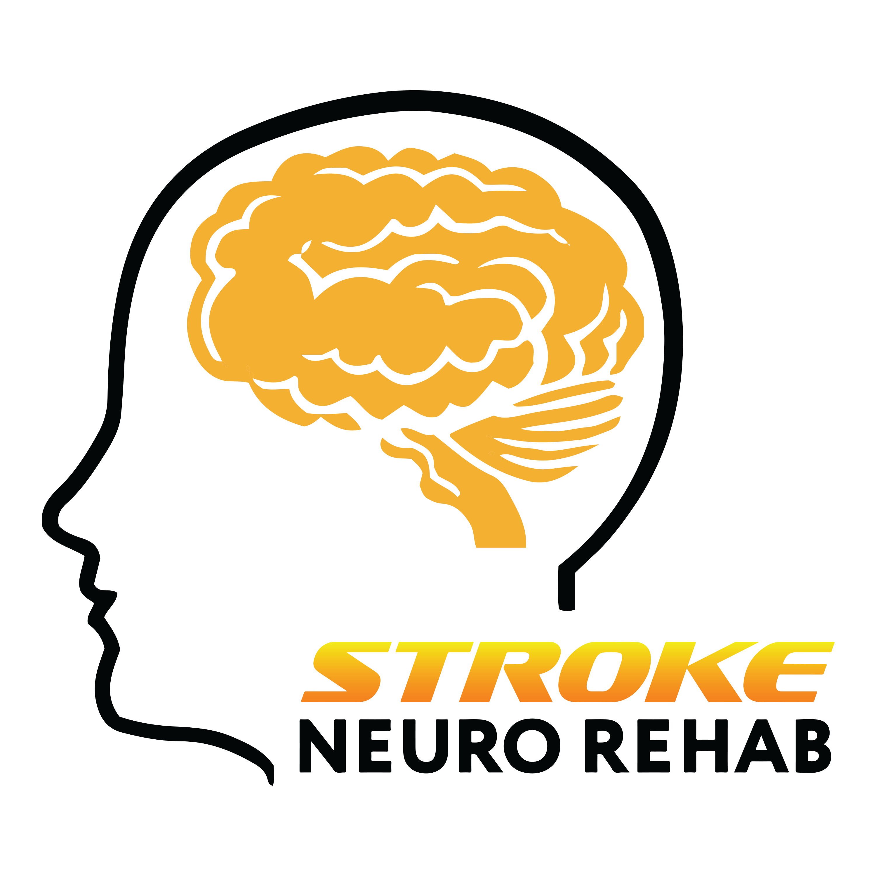 stroke neuro rehab logo black coloured 3000x3000